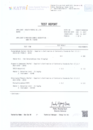KATRI TEST REPORT